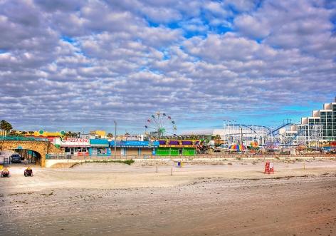 boardwalk view from pier